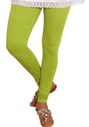 ZpluesX Cotton Lycra Comfortable Leggings for Women (Light Green, XXL)  available at amazon for Rs.229