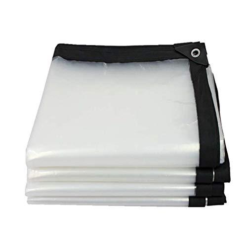 DPPAN Transparente Plastikplanenplanen, Wasserdichte Polyplanenabdeckung, Zelt Shelter Tarp Cover für Outdoor-Möbel,7x20ft (Langlebige Outdoor-möbel Covers)