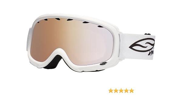 7bb8594e6c Smith Kids Gambler Air Snow Goggle - White  Amazon.co.uk  Sports   Outdoors