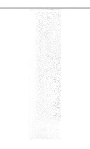 Home Fashion Schiebewand, Stoff, Weiß, 245 x 60 cm - Stoff Schiebewände