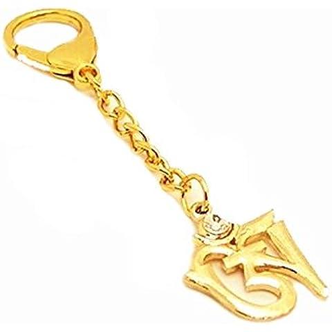 betterdecor Feng Shui Om Syllable amuleto di protezione chiave, o borsa da appendere
