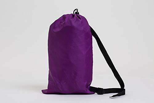 Schnelle aufblasbare Schlafsack Sofa Luftbett Lazy Bag Liege Sofa Liege, lila, 250 * 70cm