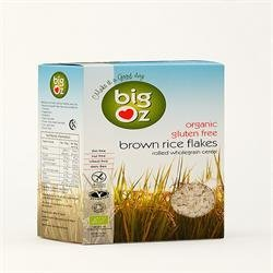 Organic Gluten-free Brown Rice Flakes