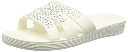 Spot On F0782 - Sandali Donna, colore bianco (white), taglia 38 EU (5 UK)