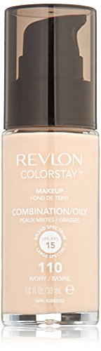 Revlon ColorStay Makeup with SoftFlex SPF 15 200 Nude, Ivory 110