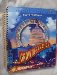 Growth of a Nation (Scott Foresman Social Studies, Volume 1)