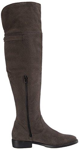 Tamaris 25811 Damen Over-Knee Stiefel Grau (Graphite 206)