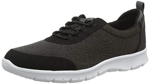 Clarks Step Allenabay, Zapatillas para Mujer, Gris (Dark Grey), 35.5 EU