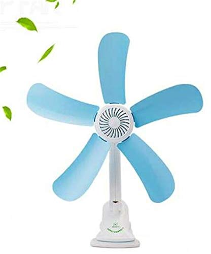 Ssltdm 2019 Hot Quiet 5 Blätter Elektrische Clip Fan Kinderwagen Fans Elektrische Fan Multifunktions Wandbehang Tisch Ordner Fan (Ordner-fan)