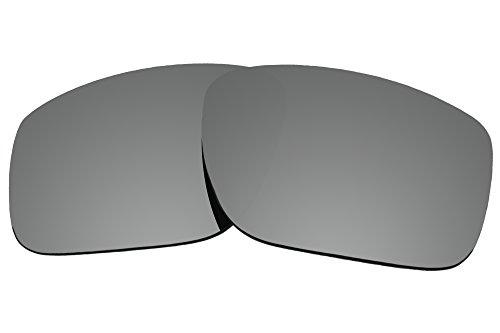 Farbe Stay Objektive 2.0mm Stärke Polarisierte Ersatz Gläser für Oakley mainlink oo9264, Titanium Mirror Coatings