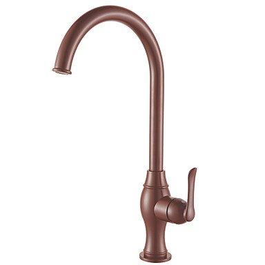 hj-retro-brown-peinture-finition-un-trou-mitigeur-pont-monte-rotatif-robinet-de-cuisine