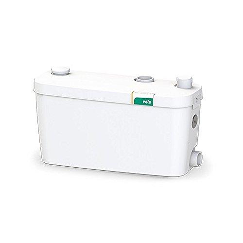 Wilo HiDrainlift 3-37 klein Hebeanlage Abwasserpumpe und Schmutziges Wasser Lifting Einheit Pumpe für Bodenmontage Installation Überfluraufstellung (4191680)