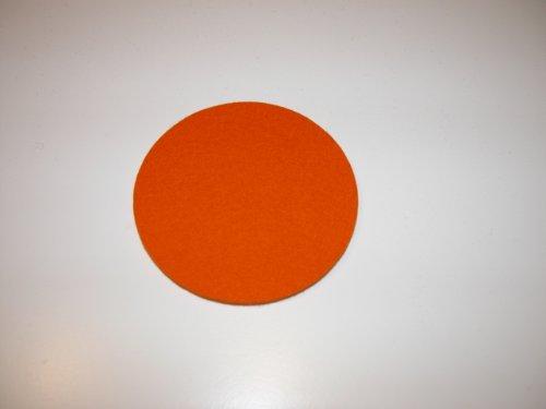 daff Filz Untersetzer Scheibe 10, mandarine