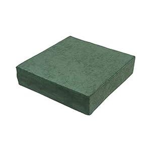 Stuhlerhöhung Sitzerhöhung Sitzkissen Bodenkissen 40 x 40 x 10cm, grün