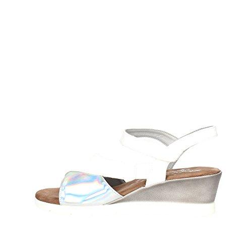 Cinzia Soft 781225 Sandalo Donna Vernice Bianco Bianco 37