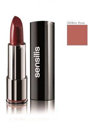 SENSILIS Sheer Stange Lippen glänzend feuchtigkeitsspendend 308Bois Rose