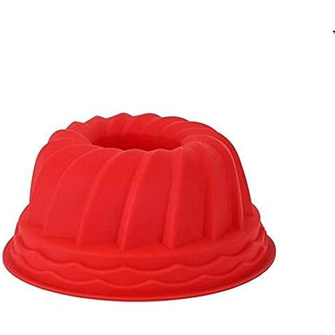 Cuocere piatti torta di zucca 7 pollici food grade silicone torta stampo 3pcs