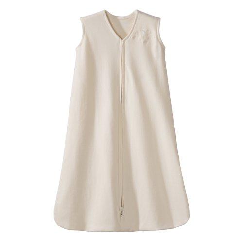 Halo Schlafsack Wearable Decke Baumwoll-Strampelanzüge (Cream 6-12 Monate)