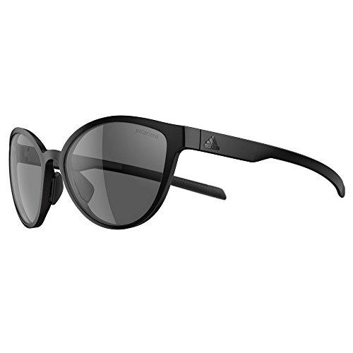Adidas Brille Sonnenbrille TEMPEST ad34 Damen Herren Einheitsgröße (black matt - 9200 grey polarized)