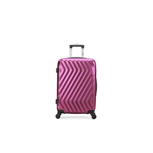 air-v BAGAGES, Valigia Rosa Rosa M