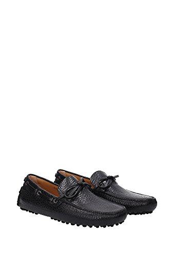 KUD006NEROVITGRAINLUX Car Shoe Mocassins Homme Cuir Noir Noir