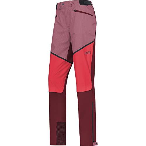 GORE WEAR Damen H5 Windstopper Hybrid Hose, chestnut red/hibiscus pink, 42 - Windstopper Hybrid