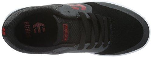 Etnies Kids Marana, Chaussures de Skate Mixte Bébé Noir - Negro (Negro/DARK GREY/RED / 565)