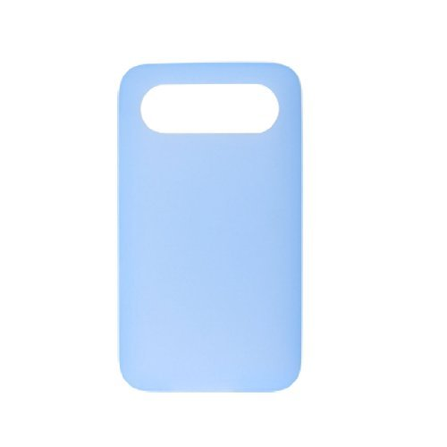 Water & Wood Light Blue Soft Silicone Skin Back Guard Case for HTC Schubert HD7
