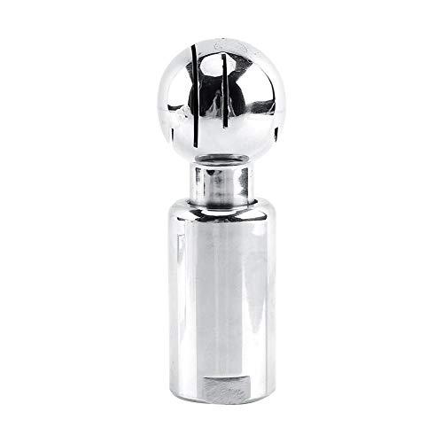 """Spray Ball, 1pc 1/2""""BSP Gewinde Weibliche Reinigungskugeln Edelstahl Sanitär Spray Ball Tank mit Haltbarkeit und lange Lebensdauer, Außenoberfläche poliert gut (Fix/Rotary) (Rotary)"""