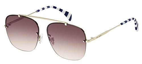 Tommy Hilfiger Unisex-Erwachsene Sonnenbrille TH Gigi HADID2 3 X Schwarz (Light Gold), 59 Preisvergleich