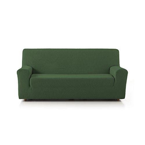 Eiffel textile copridivano elasticizzato, stile rustico 4 posti 41x21x6 cm verde