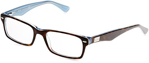 Ray-Ban Herren Brillengestell 0rx 5206 5023 52 Braun (Top Havana On Tr Azure),
