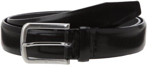 Tommy Hilfiger Tailored Herren Gürtel Belt Benson Schwarz (099), 85 cm