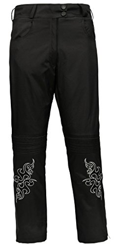 Bangla 501tribal Damen Cordura Hose Motorradhose im Jeanslook Schwarz M