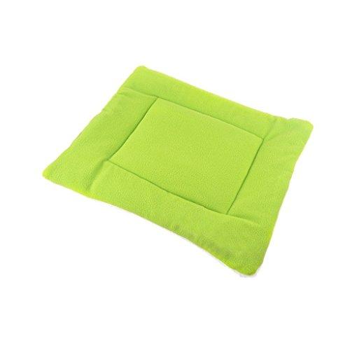 Komener Komfortable Pet Pad Klimaanlage Decke Katze Hund Isomatte Haustier liefert (grün M)