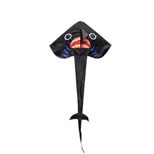 Hai Große Weiße Kostüm Kind - Drachen Große Erwachsene Im Freien Spielzeug Kinder Brise Einfach Zu Fliegen Dreieck Hai Drachen