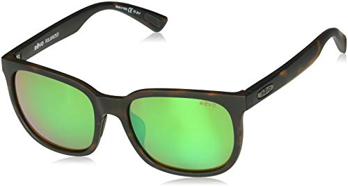 91030a06a58c Revo Eyewear Sunglasses Slater Matte Tortoise with Polarized Green Water  Lens
