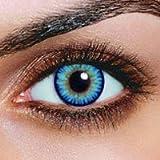 Farbige Sky Hellblaue Kontaktlinsen + 1 GRATI