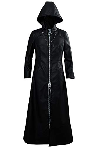 Kostüm Kingdom Hearts 3 - Tollstore Kingdom Hearts III Kingdom Hearts 3 Organization XIII Xemnas Xion Uniform Mantel Cosplay Kostüm NEU XL