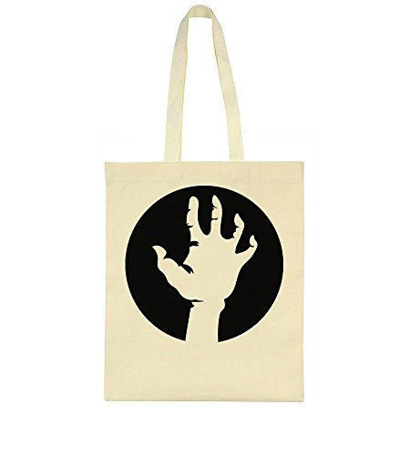 idcommerce White Hand Of The Rising Dead Human In Black Tote Bag