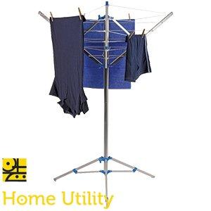 Aluminium Home Utility freistehend Rotary 15m, 3Arm Wäscheständer