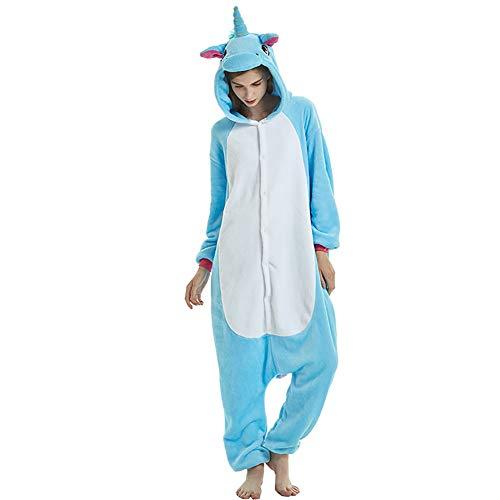 Unicornio Unisex Adultos Pijamas Halloween Homewear