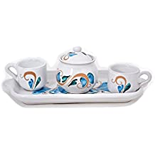 Kernos Ceramiche, Serv. Tet a tet caffe