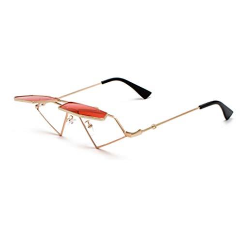 Huicai Frauen Harajuku Stil Flip Sonnenbrille Hip Hop Retro dekorative Brille Rahmen Pop Brille Sonnenbrille