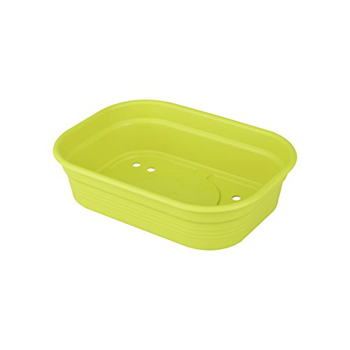 Elho 2055212 Green Basics Coquille pour Planter Vert Lime Taille S 27 x 27 x 11 cm