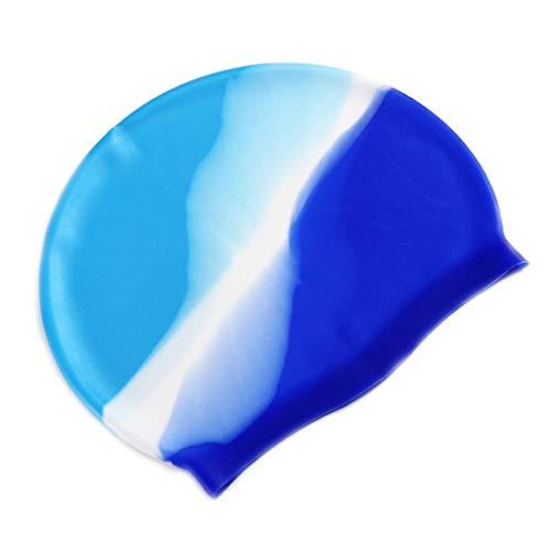 Erwachsene Schwimmen Kopf Kappe Bunte Wasserdichte Schützen Ohren Abdeckung Weichen Silikon Leichte Unisex Schwimmen Zubehör