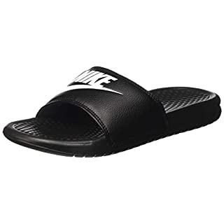 Nike Benassi Jdi, Men's Beach & Pool Flip Flops, Black (Black / White), 10 UK