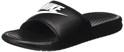 Nike Benassi Jdi, Herren Flip Flop, Schwarz (Black/White), 38.5 EU