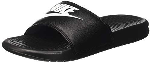 Nike benassi jdi, scarpe da ginnastica basse uomo, multicolore (nero / bianco), 44 eu