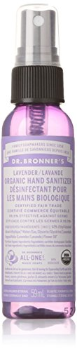Bronner's Magic Soap Dr. Bronners - Magic Organic Hand Sanitizing Spray Lavender - 2 Oz.